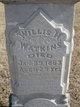 Willis H Watkins