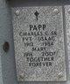 Profile photo:  Charles C Papp, Sr