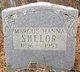 Marcus Hanna Shelor