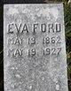 Mary Eva <I>Baker</I> Ford