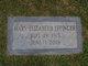 Mary Elizabeth <I>Lovern</I> Effinger