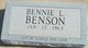 Bennie L Benson