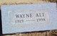 Wayne E. Alt
