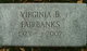 Virginia <I>Brown</I> Fairbanks