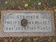 Margaret <I>Straub</I> Stricker