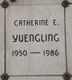 """Profile photo:  Catherine Elizabeth """"Cathy"""" <I>Bolla</I> Yuengling"""