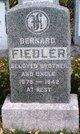 Profile photo:  Bernard Fiedler