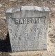 Profile photo: Pvt Benjamin Jefferson Sansom