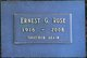 "Ernest George ""Ernie"" Rose"