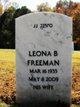 Leona Freeman