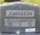 Zesta Alberta <I>Hampton</I> Johnston