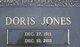 """Profile photo:  Doris """"Dot"""" <I>Jones</I> Baker"""