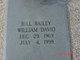"William David ""Bill"" Bailey"