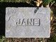 Profile photo:  Jane A Alexander