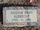 William Dean Albrecht