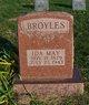 Ida May <I>Rennison</I> Broyles