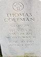 Thomas Coleman