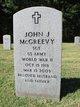 Profile photo:  John J McGreevy