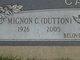 Mignon C <I>Smith</I> Cave Dutton