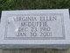 Virginia Ellen <I>Highland</I> McDuffie