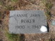 Profile photo:  Annie Jahn Roker