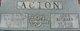 Marion Blaine <I>Blankenship</I> Acton