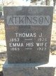 Thomas J Atkinson
