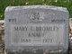 Mary Elizabeth <I>Hosack</I> Bromley