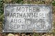 Martha N. <I>Sanders</I> Marlin