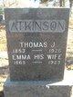 Emma <I>Brown</I> Atkinson