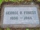Profile photo:  George Robert Forest