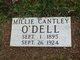 Millie <I>Cantley</I> O'Dell