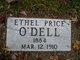 Ethel <I>Price</I> O'Dell