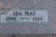 Ida Mae <I>Wert</I> Alleman