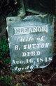 Mary Eleanor <I>Miller</I> Sutton