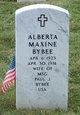 Profile photo:  Alberta Maxine Bybee