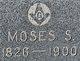 Profile photo:  Moses Sawin Adams