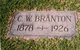 Profile photo:  Charles W. Branton