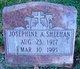 Profile photo:  Josephine <I>McGinn</I> Sheehan