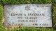 Pvt Edwin Allan Freeman