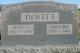 Mary S <I>Pittman</I> DeWitt