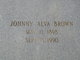 Johnny Alva Brown