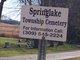 Springlake Township Cemetery