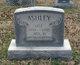Profile photo:  Ada M. <I>Mudd</I> Ashley