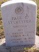 Paul Connor Sylvester
