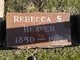 Profile photo:  Rebecca Susan <I>Shaw</I> Beaver