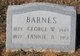 Fannie B <I>Pemberton</I> Barnes