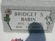Bridget Valarie <I>Samanie</I> Babin
