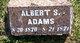 Profile photo:  Albert S Adams