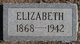Elizabeth <I>Boston</I> Adams